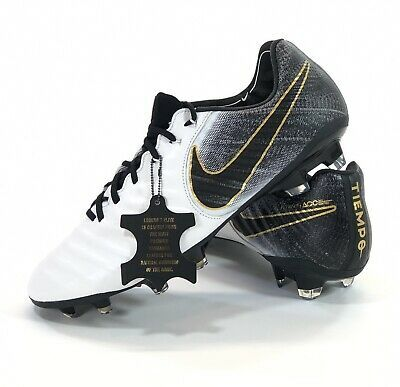 Ebay Sponsored Nike Tiempo Legend 7 Elite Fg Ah7238 100 White Soccer Cleats Sergio Ramos Soccer Cleats Cleats Soccer