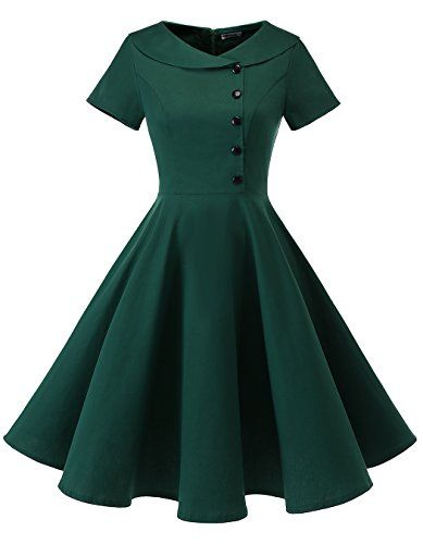 Pretty Outfits, Pretty Dresses, Stylish Outfits, Beautiful Dresses, Simple Dresses, Elegant Dresses, Casual Dresses, Vintage 1950s Dresses, Vintage Outfits