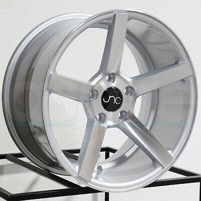 Advertisement Ebay One 17x9 Jnc 026 5x114 3 30 Silver Machine Face Wheel Rims In 2020 Wheel Rims Wheel Wheels And Tires