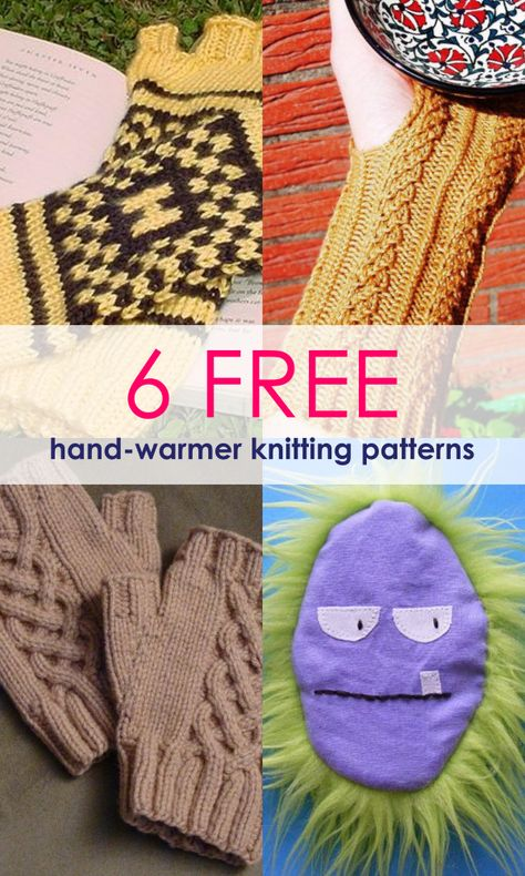 Free Patterns 10 Most Unique Hand Warmers For Winter
