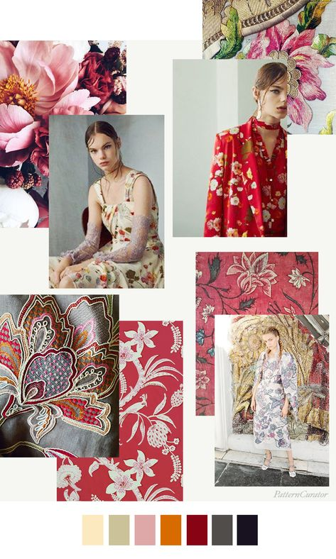 Pattern Curator Trend Subscription: JACOBEAN ROSE
