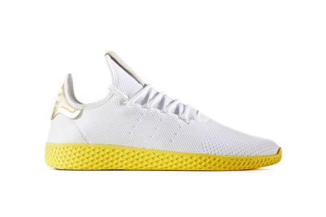 adidas tennis hu giallo cp9667 in piedi