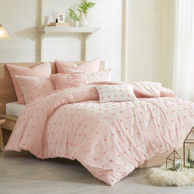 Aiden Comforter Set Comforter Sets Pink Comforter Duvet Sets