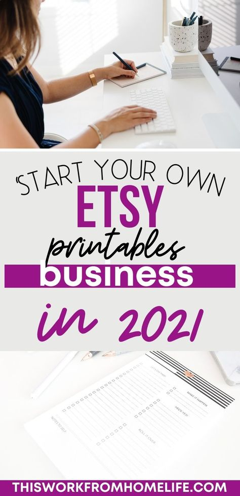 How To Start Your Own Etsy Printables Business