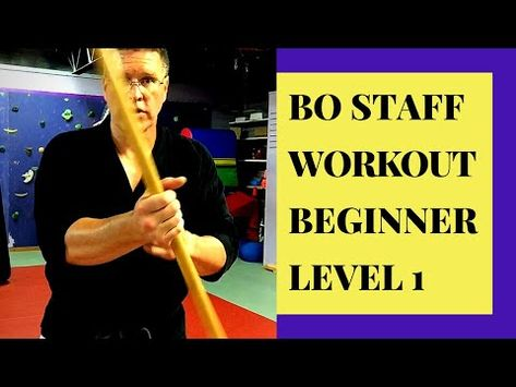 BO STAFF TRAINING AND WORKOUT - YouTube