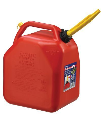 Scepter 25l Gas Can Gas Cans Oil Change Tools Fuel Storage