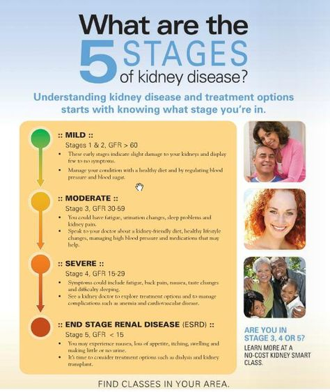 Understanding the 5 stages of Kidney Disease. Are you at risk for CKD?