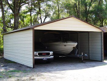 A Frame Roof Style Carports Boxed Eave Carports For Sale In 2019