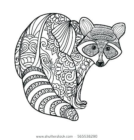 Raccoon Animal Jam Coloring Pages Animal Jam Cartoon Coloring