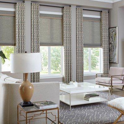 Premier Roman Shades Blinds Com Curtains Living Room Pretty Living Room Living Room Decor Curtains