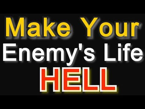 BY reading this Powerful DUA your Enemy will come to your feet suddenly- voodoo spells binding curse