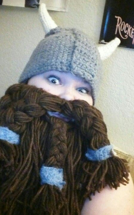 Dwarf beard crochet