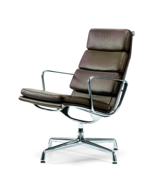 Eames Soft Pad Group Ea 216 By Vitra Aluminum Chairs Modern