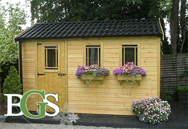 Cottage Style Garden Shed Boyne Sheds High Quality