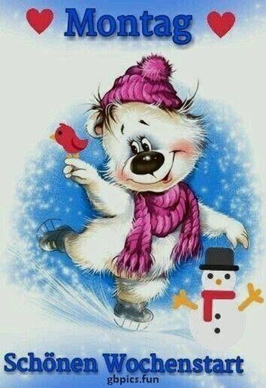 Montag Bilder Weihnachtlich Montag