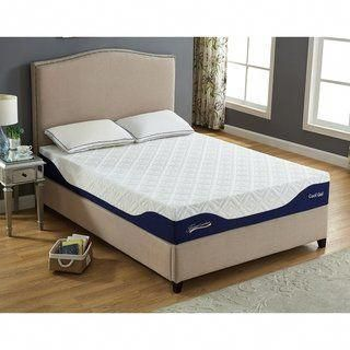 10 Gel Memory Foam Mattress Twin Full Queen King Twin Xl Size Full White Memoryfoammattresshot Adjustable Beds Twin Mattress Mattress