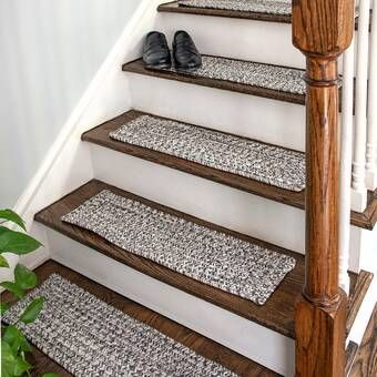 Ashbury Trellis Vibrant And Soft Stair Tread Stair Renovation Stair Makeover Diy Stairs