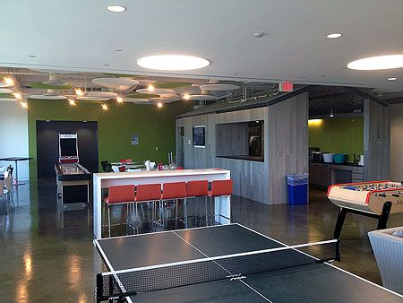 This Is What I Call A Gameroom | The Advisory Board Companyu0027s Cool Office  Space In Austin, Tx | Pinterest | Game Room Design, Break Room And Game  Rooms
