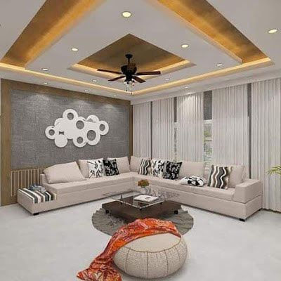 New Gypsum Ceiling Design For Living Room 2019 Bedroom False