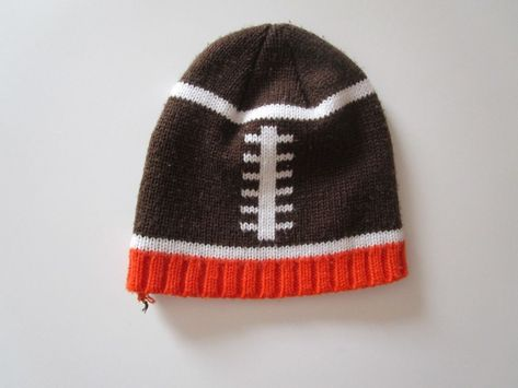 Boys Knitted Winter Football Stocking Cap Beanie Hat Toboggan sz. 2T-5T   fashion  clothing  shoes  accessories  babytoddlerclothing   babyaccessories (ebay ... ca5c7688e5b