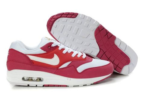 detailed look 9ea52 86938 Nike Air Max 87 Mens Pink Red White | Shoesssssss | Pinterest