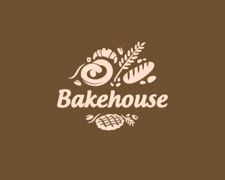50 best Bakery Logo Designs images on Pinterest | Bakery logo ...