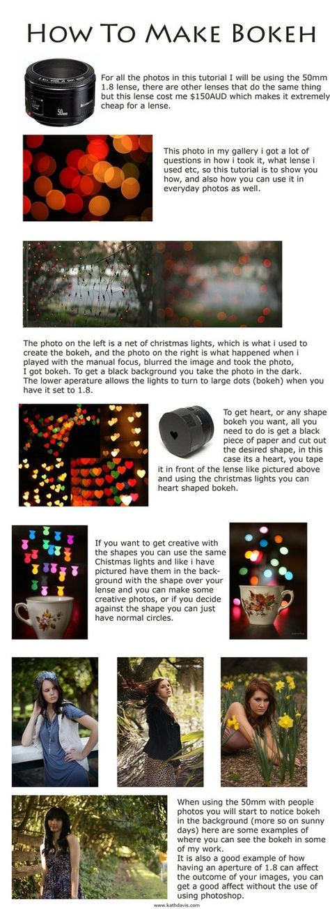 Photography bokeh