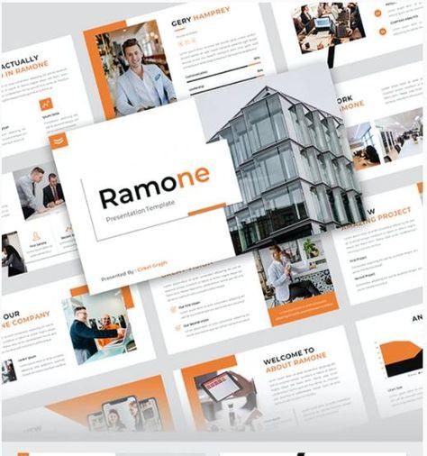 Ramone - Business PowerPoint Presentation Template