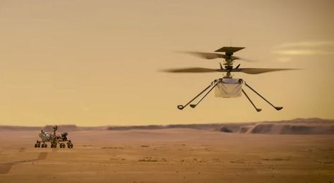 Ingenuity's First Flight on Mars is a Success - Check Out the Incredible Video - Optic Flux
