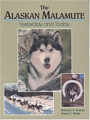 The Alaskan Malamute Yesterday And Today Barbara A Brooks