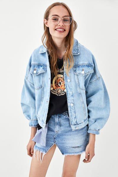 2 2019Jeans Von Bild Jeansjacke Jacken Zara Weite In lcTFK1J3