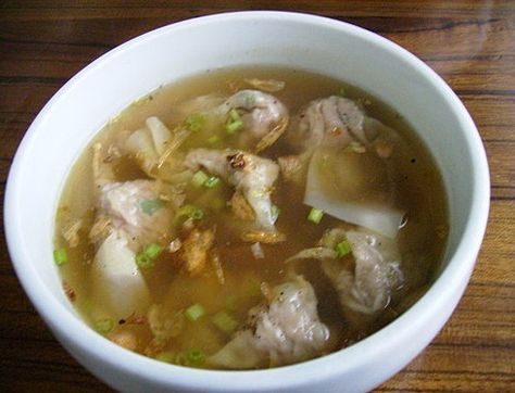Chinese Wonton Soup Recipe