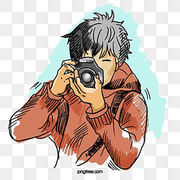 Photographers Element Hand Painted Camera Photograph Png Transparent Clipart Image And Psd File For Free Download In 2021 Camera Cartoon Photography Logo Design Camera Logos Design