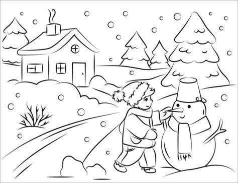 Winter Ausmalbilder Winter Kinder Artpainting Malvorlagen Ausmalbilder Ausmalbilder Winter Mandalas Kinder
