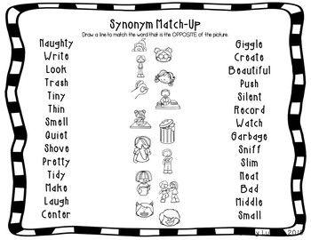 ELL Synonym Bundle | Made for ESL | Ell, Vocabulary, ESL
