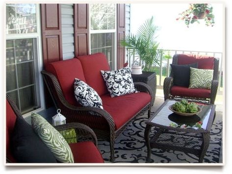 decorating a front porch for summer | My Front Porch from Sandy Essig Lucas | How To Decorate