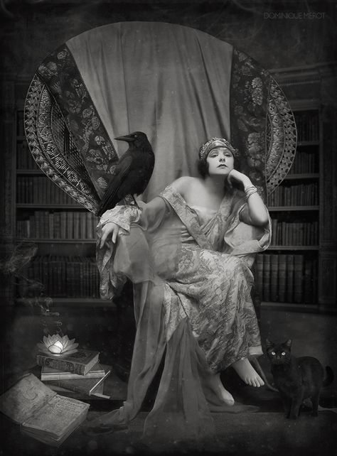 Fortune telling by dominique- on can find Vintage witch and more on our website.Fortune telling by dominique- on Vintage Pictures, Old Pictures, Vintage Images, Old Photos, Vintage Gypsy, Vintage Witch, Vintage Beauty, Vintage Burlesque, Potnia Theron