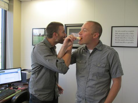 This is how they run the company! #Creamsicle #NationalCreamsicleDay #OfficeFun #Insurance