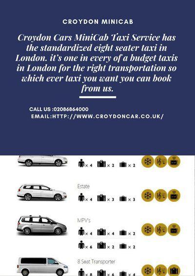 Croydon Cars Minicab On London Airports Croydon Gatwick Airport