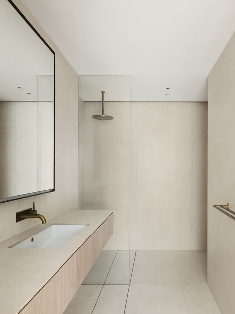 A Warm and Tactile Apartment Reinvention by studioplusthree | est living
