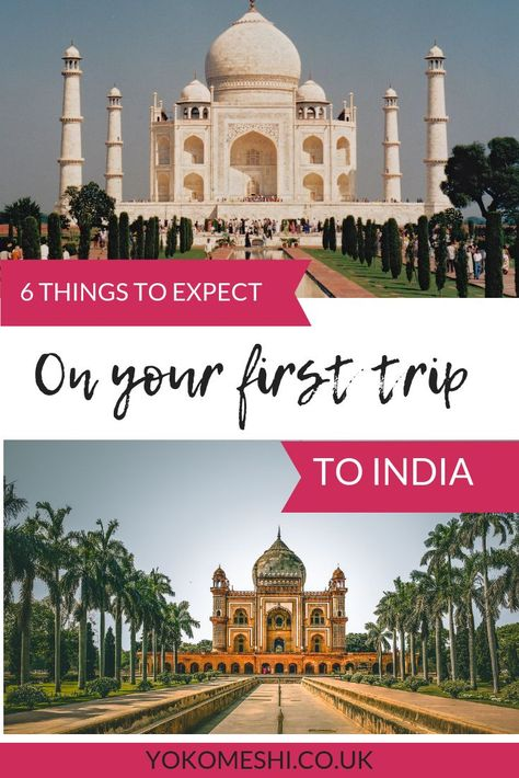 Read this before taking your first trip to India. Hints and tips to read before visiting India for the first time, including essential things to know before travelling India.  #india #backpacking #asia