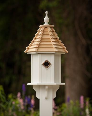 Gilbertson Pvc Cedar Bluebird House Wren House Bluebird House Blue Bird