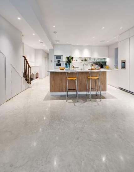 Kitchen Floor Modern Polished Concrete 41 Ideas Concrete Kitchen