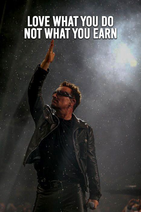 Top Famous Motivational Words Bono U2 Best Rock Bands My