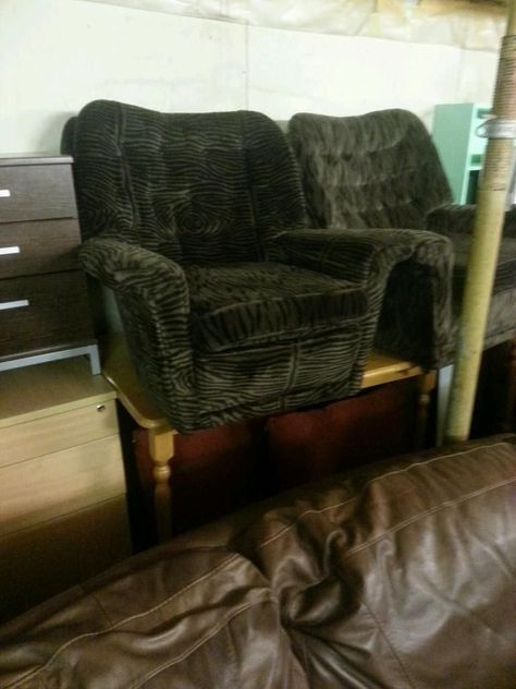 2 Armchairs In Tigerskin Fabric 30 A Piece On Gumtree We Can Deliver Sofa Sale