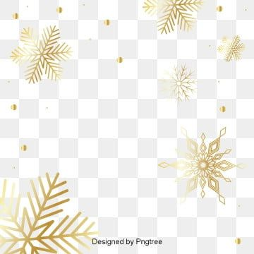 Champagne Snowflake Element Beautiful Champagne Snowflake Png And Vector With Transparent Background For Free Download Molduras