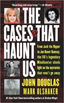 There are some criminal cases that even the FBI can't crack.  The Cases That Haunt Us is a collection of crimes that have never been solved. They are crimes which have continued to play on the minds of those trying to solve them.  Written by John Douglas, one of the top criminal profilers at the FBI during his career, he covers The Zodiac Killer, The JonBenet Ramsey Murder, The Lindbergh Kidnapping and the Jack The Ripper case.