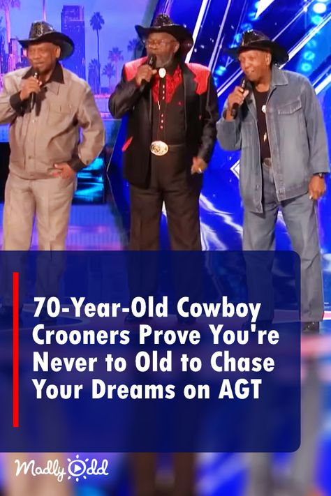 70-Year-Old Cowboy Crooners Bring The House Down With 1968 One-Hit-Wonder