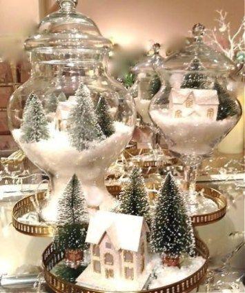 Elegant Christmas Table Centerpieces Decoration Ideas 34 Beautiful Christmas Decorations Christmas Table Centerpieces Christmas Centerpieces Diy