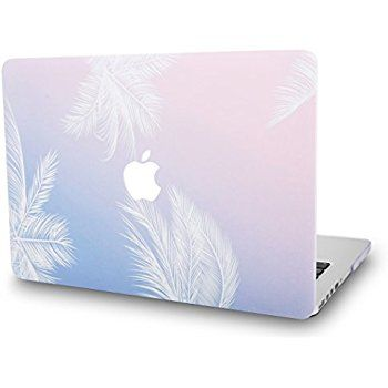 buy popular 2ac73 aeb0c Pastle MacBook Air 13 Inch Case with calming shade of pink and blue ...